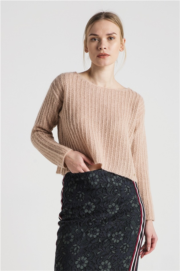 XTSY 839 PINK RENK SWEATER