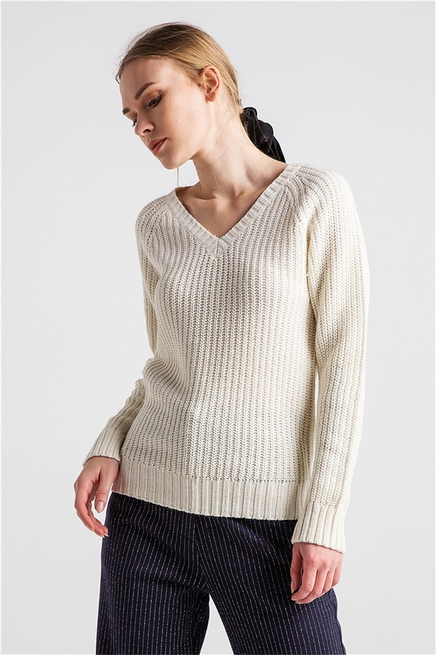 XTSY B819 CREAMGOLD PULLOVER