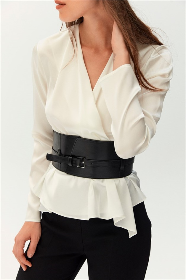 WIDE ASYMMETRIC BELT